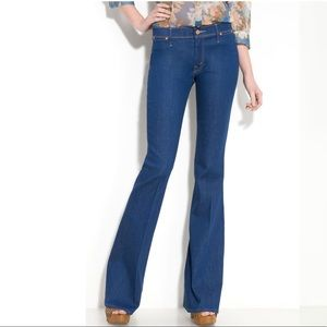 MOTHER 'The Curfew' Flare Leg Stretch Jeans